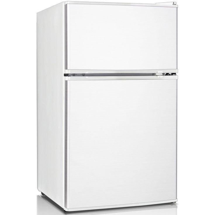 Keystone KSTRC312CW Compact 2 Door Refrigerator/Freezer, 3.1 Cubic Feet,  White