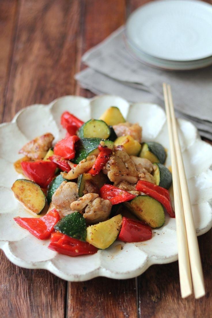 ズッキーニと鶏の生姜炒め。 by 栁川かおり   レシピサイト「Nadia   ナディア」プロの料理を無料で検索