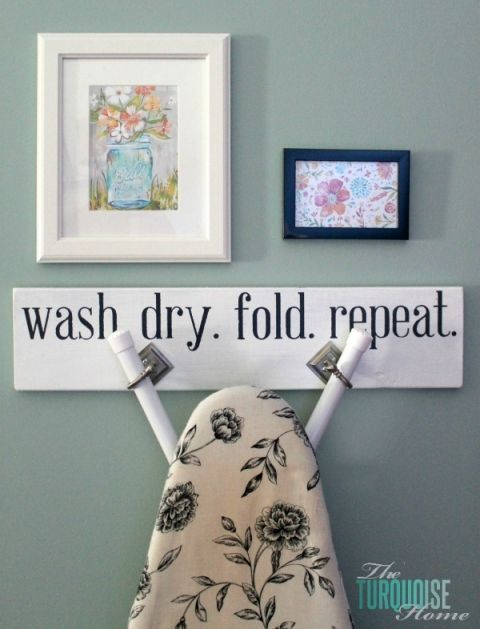 How to Hang the Ironing Board Hanger                                                                                                                                                                                 More
