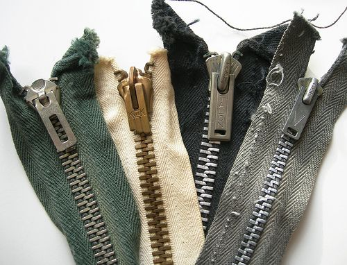 How to identify vintage zippers