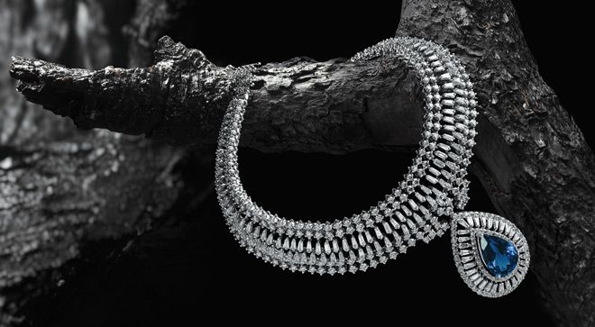 Indian Jewellery and Clothing: Splendid diamond collection from Jaipur jewellers..