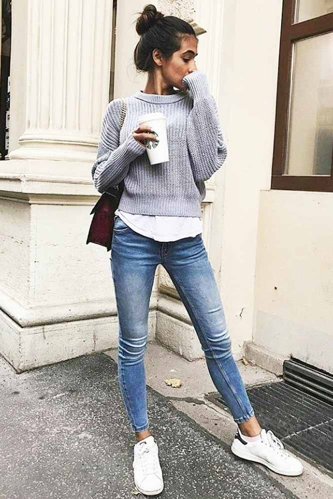 Discover trendy and comfortable fall outfit ideas in our photo gallery. Get insp…