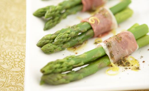 Epicure's Prosciutto-wrapped Asparagus