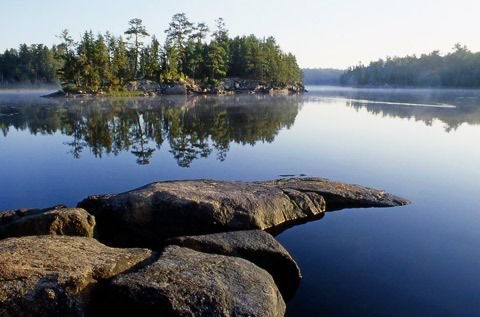 Quetico Provincial Park in Ontario is surely part of Heaven on Earth.