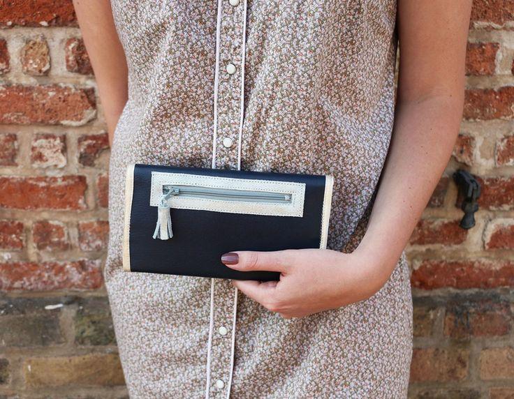 Tuto de portefeuille en cuir par Mélanie Voituriez.