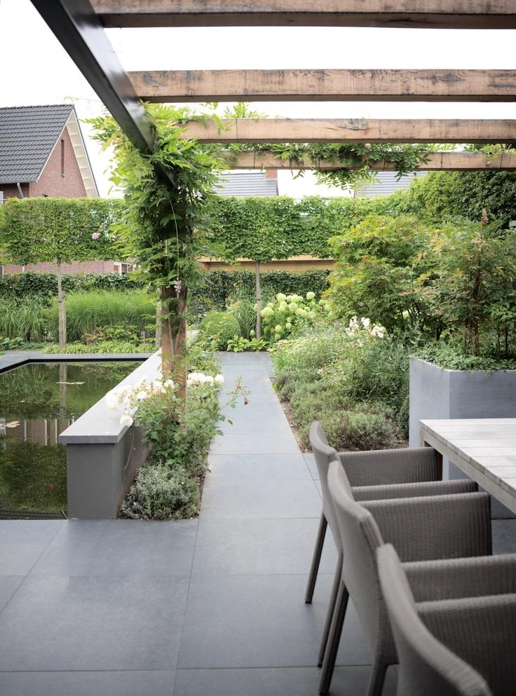 Moderne Pergola 31 best images about moderne tuinen on black granite gardens and garden modern