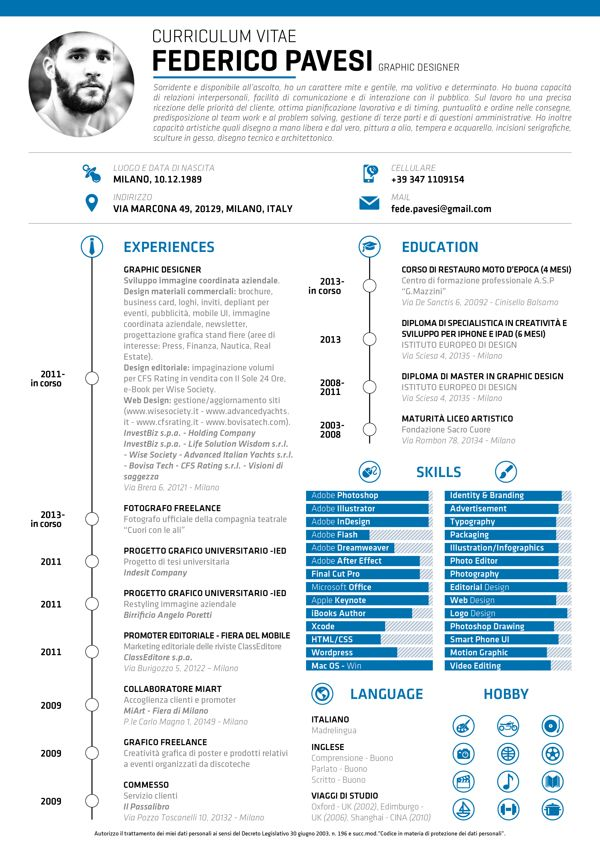 155 best Curriculum Vitae images on Pinterest Cv template - resume or curriculum vitae