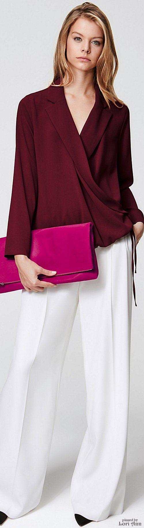 Escada Pre-Fall 2016 women fashion outfit clothing style apparel @roressclothes closet ideas