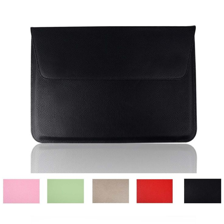Amazon.com: Smith Sursee® Macbook Pro 15 Caselitchi Grain Pu Leather Macbook Sleeve Bag for Apple with Retina Ultrabook Case Cover (A1398, Midnight Black): Computers & Accessories