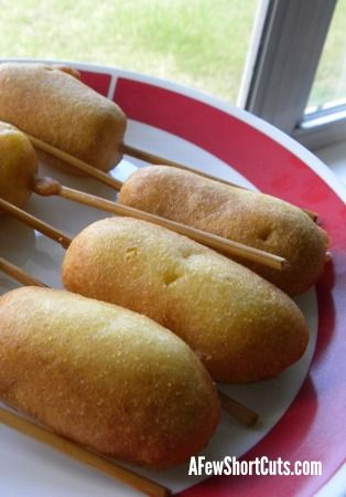 The Best Ever Gluten Free Corn Dog #Recipe