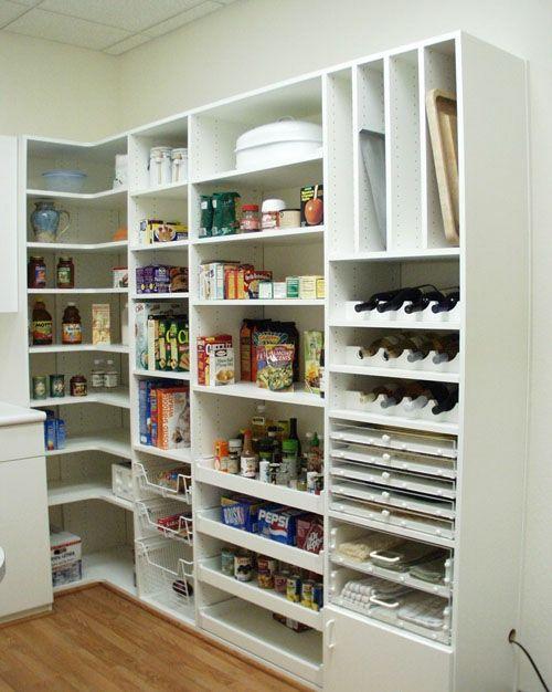 ber ideen zu speisekammer organisation auf pinterest vorratskammern organisationen. Black Bedroom Furniture Sets. Home Design Ideas
