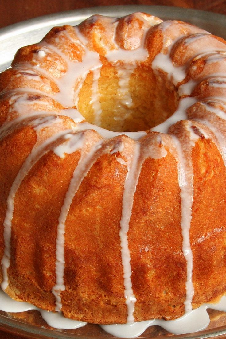 Keylime Pound Cake With Cream Cheese Froasting
