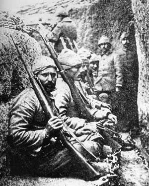 Gelibolu,Türk Askeri