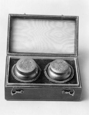 Courtesy of the Royal Armoury // Sigillstamp som tillhört Gustav, hertig av Uppland (1827-1852). / Seal Stamp that belonged to Gustav, Duke of Uppland (1827-1852).