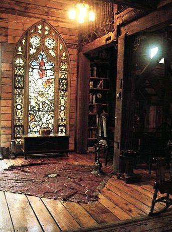Hobbit House Interior Handmade Houses House Elements Wonderful Windows