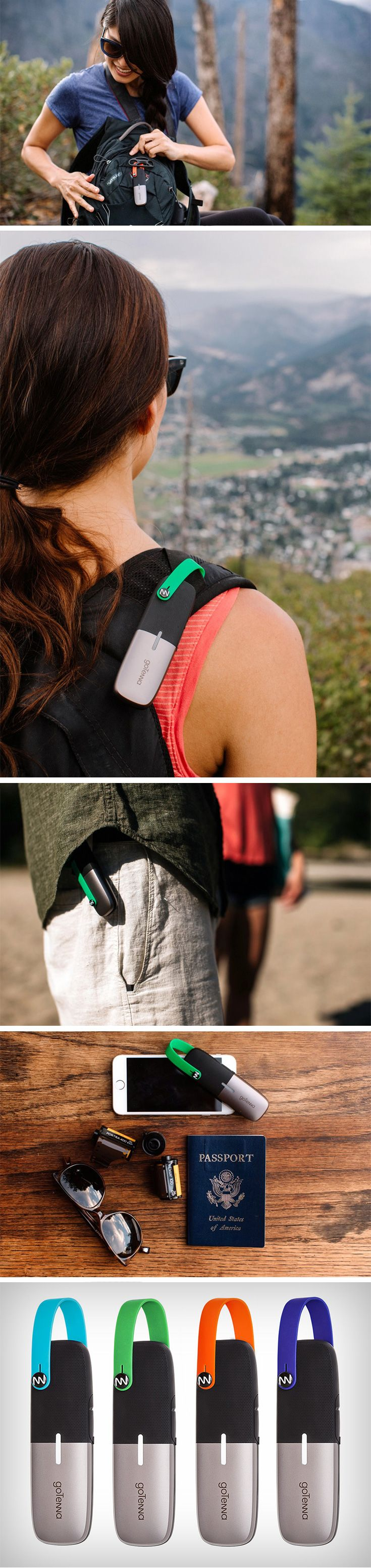 Founded by siblings Daniela and Jorge Perdomo in the wake of the Sandy Hurricane, the GoTenna Mesh was envisioned to be a saving grace for all situations when phone communications would be down. The Mesh pairs with your phone, giving it the ability to send out messages, make calls, share locations, in a completely encrypted format. Think of it as a much more advanced walkie-talkie that allows you to stay connected with friends/family, no matter where you are and/or how bad your cell-service…