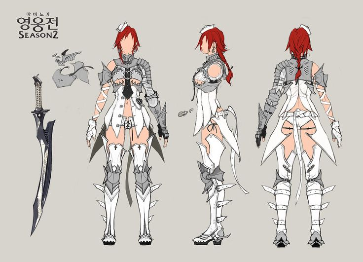 Fantasy Character Design Sheet : Images about vindictus on pinterest