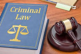 Criminal law book for an experienced criminal law attorney