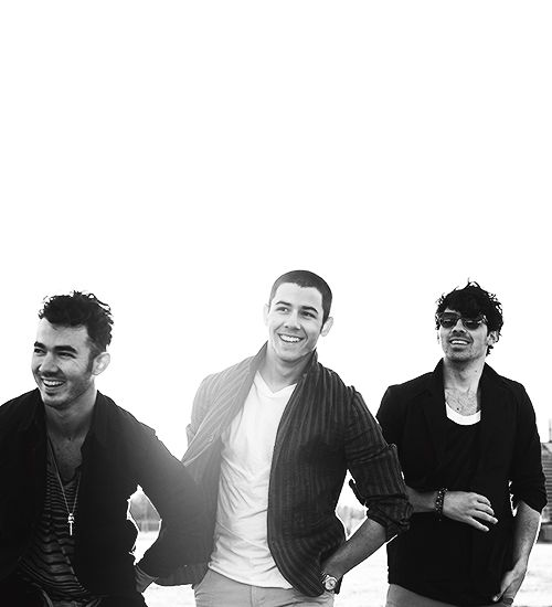 Jonas Brothers. This might be the best picture of them ever.