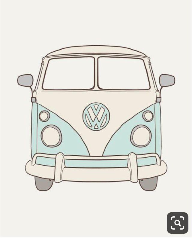 pin by lauren caraluzzo on kombi vans bus art vw art cute stickers bus art vw art cute stickers