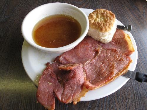 Country Ham, Biscuit & Red-Eye Gravy   Breakfast   Pinterest