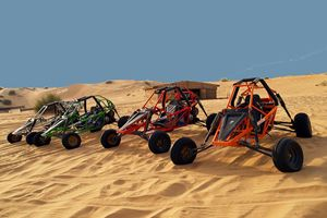 Dune Buggies - have done this on Grand Turk, Michigan sand dunes and a couple of other places...