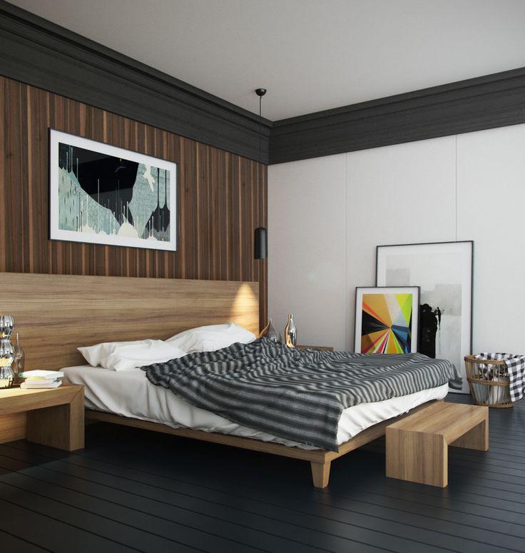 Vray interior lighting loft bedroom home decor that i for Vray interior
