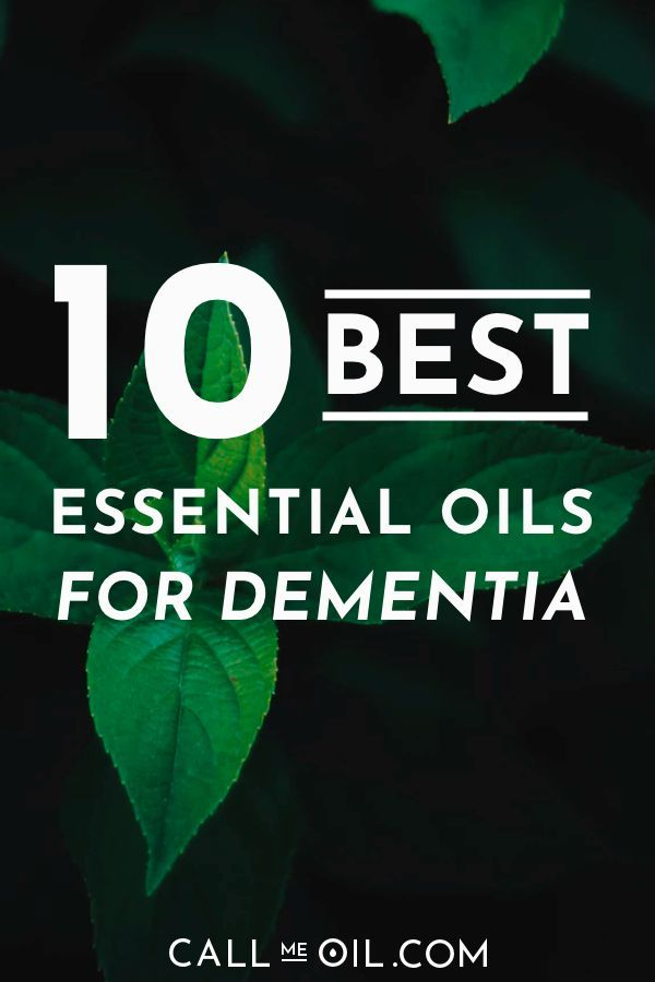 10 Best Essential Oil Diffuser Recipes For Dementia & Neurological