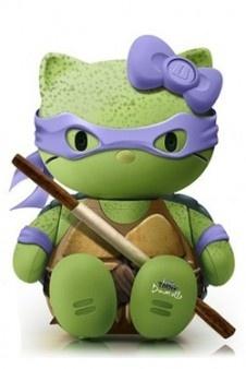 Imagen para Iphone. Donatello. Tortuga Ninja Hello Kitty