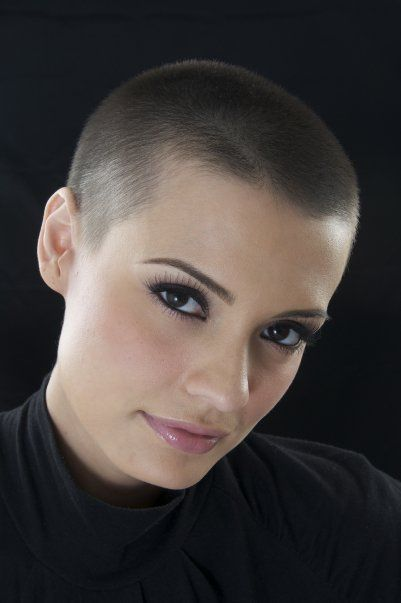 buzz cut hair style bebsabe duque shorn frisyr 8158