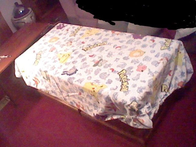 Pokemon Bed Sheet From First Generation Twin Size
