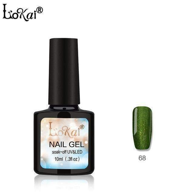 Lokai Gel Uv Vernis Semi Permanent 10Ml Uv Nail Gel Polish Soak Off Long Lasting Led Nail Polish Gel Lacquer 90 Colors 61-90