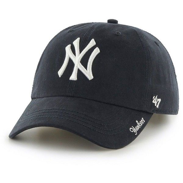 Women's '47 Brand New York Yankees Miata Clean Up Cap, Size: ONESIZE,... ($22) ❤ liked on Polyvore featuring accessories, hats, ovrfl oth, '47 brand, caps hats, ny yankees cap, 47 brand hats and 47 brand cap