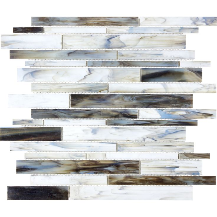 1098sq ft 12 in x 14 in pacific pearl glass wall tile - Abnehmbare Backsplash Lowes