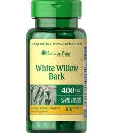 Kora Wierzby Białej (naturalna aspiryna) 400mg 100 kapsułek