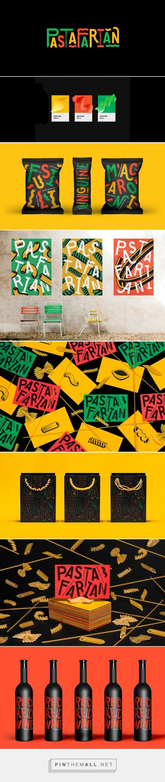 Pastafarian Pasta Branding and Packaging by Ryan Panchal   Fivestar Branding Agency – Design and Branding Agency & Curated Inspiration Gallery