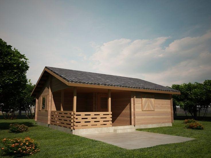 Houtskeletbouw Chalet Botosani | Houten huis bouwen #housesforsale