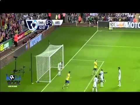 Arsenal vs Swansea City 2-1 All Goals & HighLights 28.09.2013 HD Premier League Previews of today's games around Europe can be found at www.foot-ballbett...