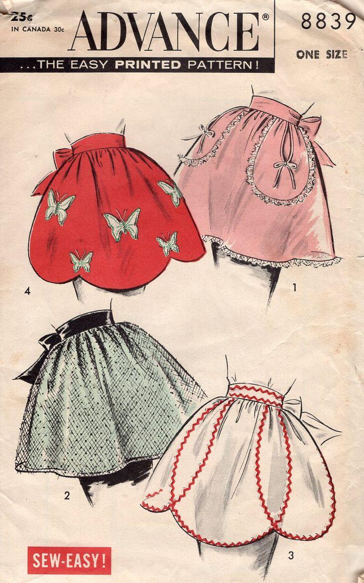 87 best Apron Sewing Patterns Vintage New images on Pinterest ...
