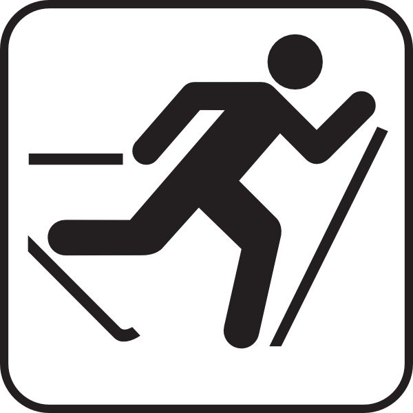 Free clipart cross country skiing clipartfest - WikiClipArt