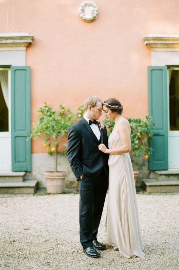 Italian Villa Wedding | photography by http://www.buffydekmarblog.com