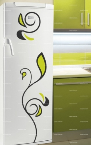 Stickers frigo : Fleur.    http://www.idzif.com/idzif-deco/stickers-deco/stickers-frigo/produit-stickers-frigo-fleur-5532.html