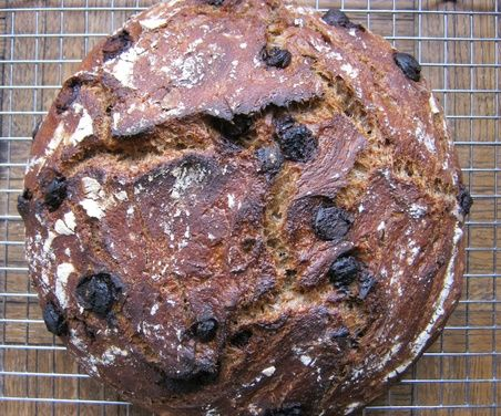 Barley, Beer and Dark Chocolate Artisan Bread - no knead - Food52