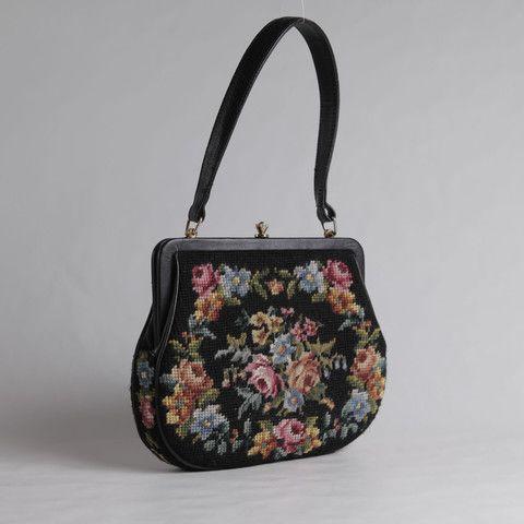 FABULOUS GOBELIN BAG | embroidery & leather by Nouvelle Bag. www.nouvellebag.com