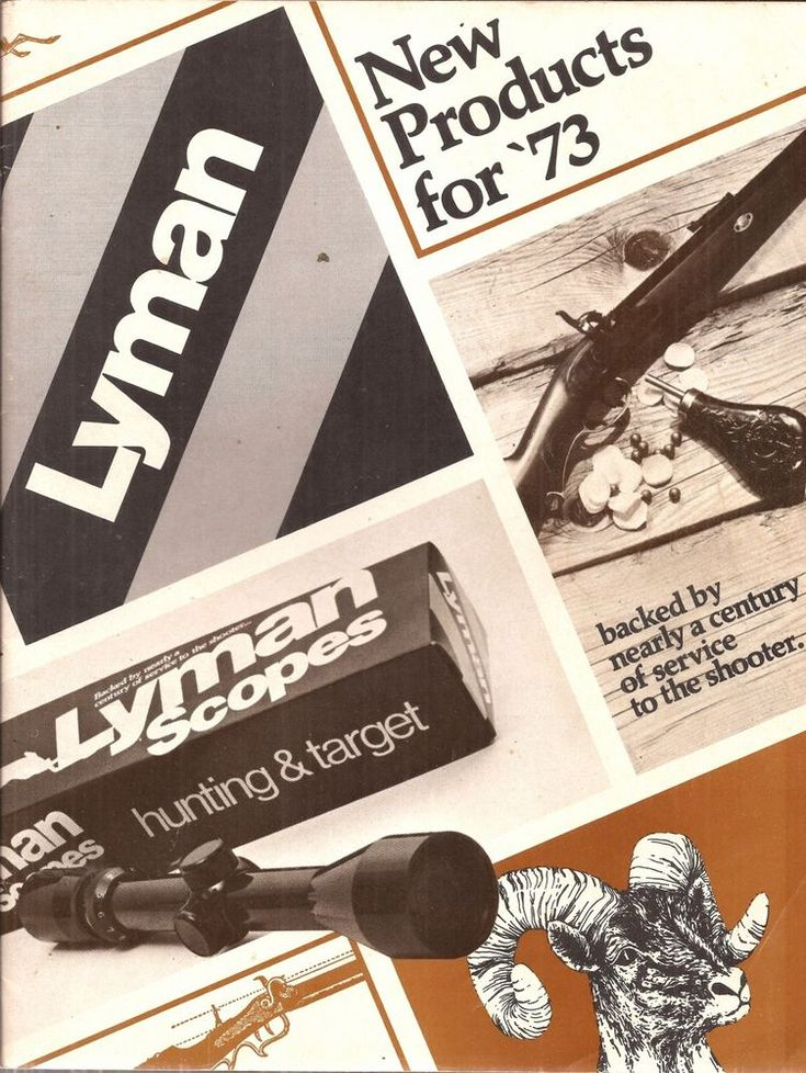 Catalog - Lyman New Products For the Shooter - 1973 #Lyman
