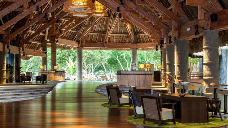 New Caledonia Deva Spa and Gold Resort - lobby