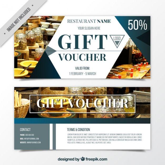 13 best gift/coupon voucher images on Pinterest | Gift voucher ...