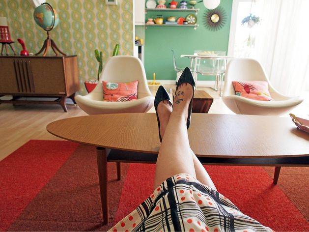 Mid-Century Modern Freak | Sweet Bay Area Apartment Viviana Agostinho...