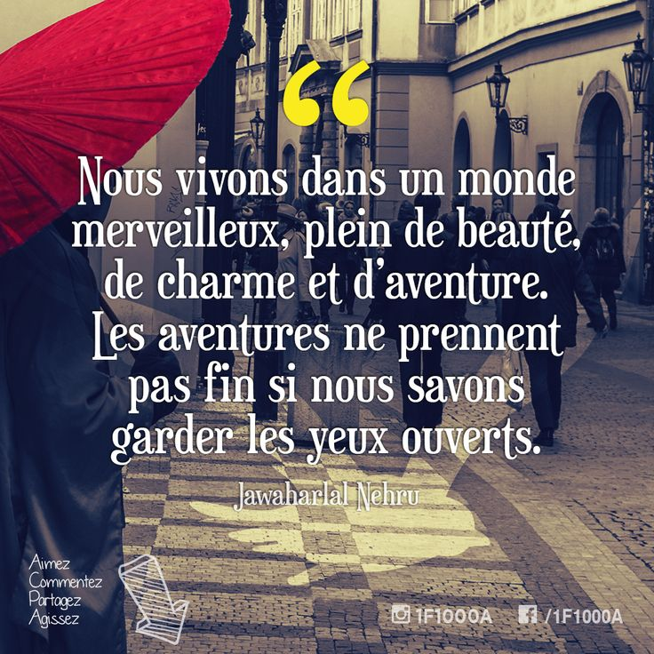 Nous vivons dans un monde merveilleux, plein de beauté, de charme et d'aventure. Les aventures ne prennent pas fin si nous savons garder les yeux ouverts. – Jawaharlal Nehru  Suivez l'aventure sur http://www.1famille1000aventures.com?utm_content=buffer7be2f&utm_medium=social&utm_source=pinterest.com&utm_campaign=buffer #1f1000a #nomade #libre #fulltimerv #inspiring #quote #inspiration #wonderful #world #adventure #aventure #open #eyes