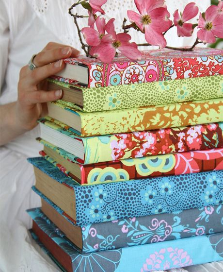 How To Restore Fabric Book Cover : Best images about paper wall covering repurposing on